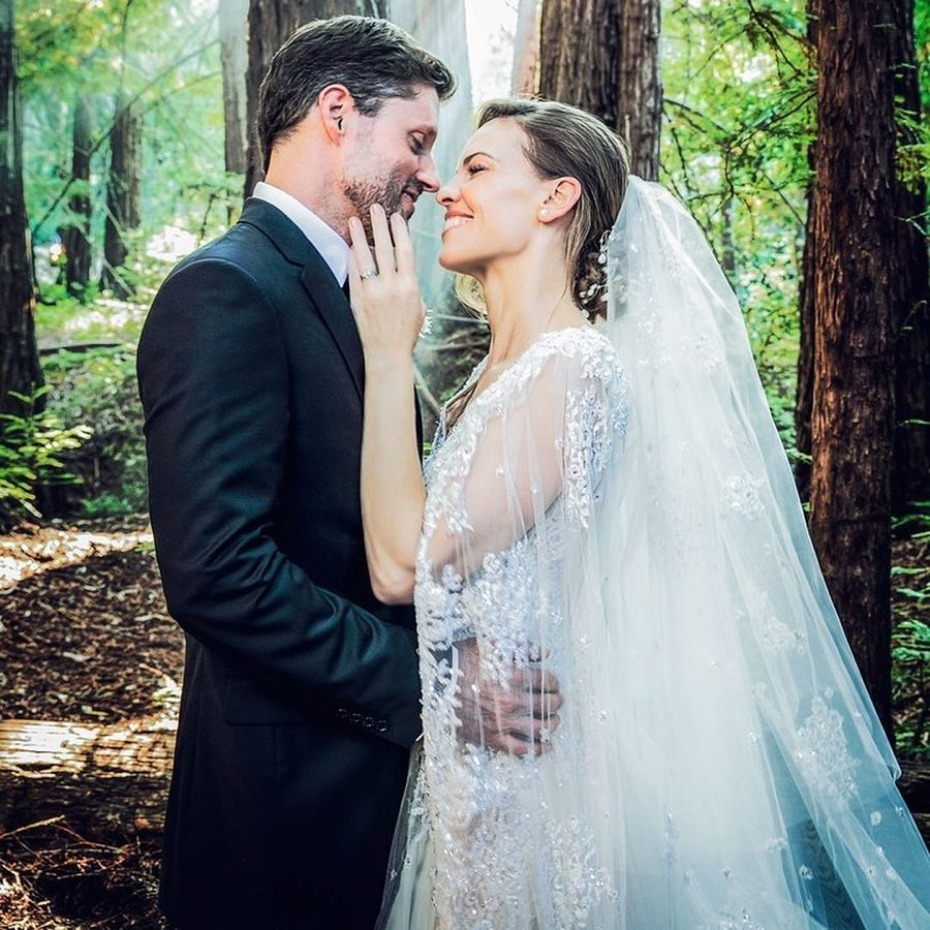 Hilary Swank Gets Married in the Redwoods 8.18.18