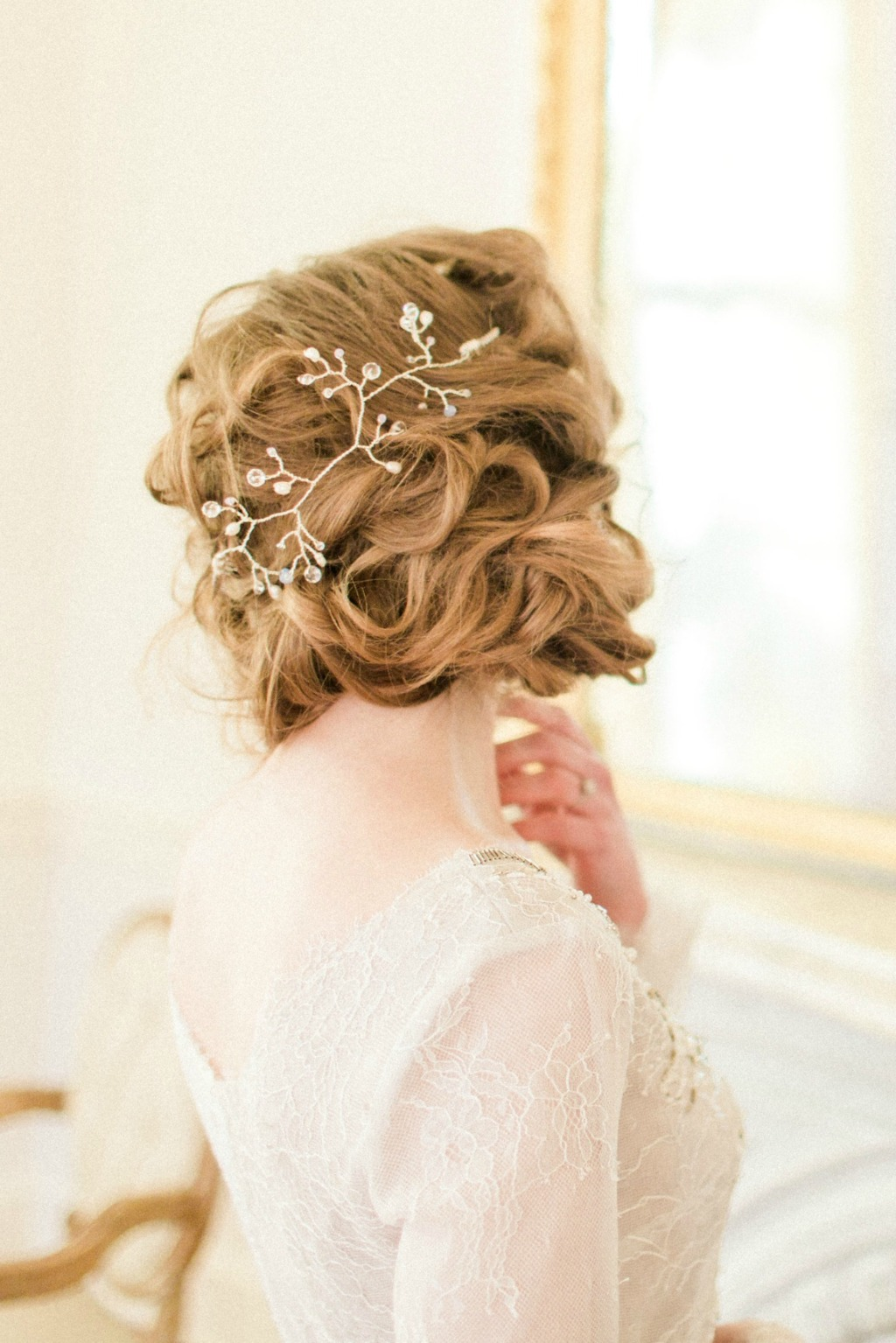 How to Wear a Bridal Hair Vine: Styling tips from the designer!