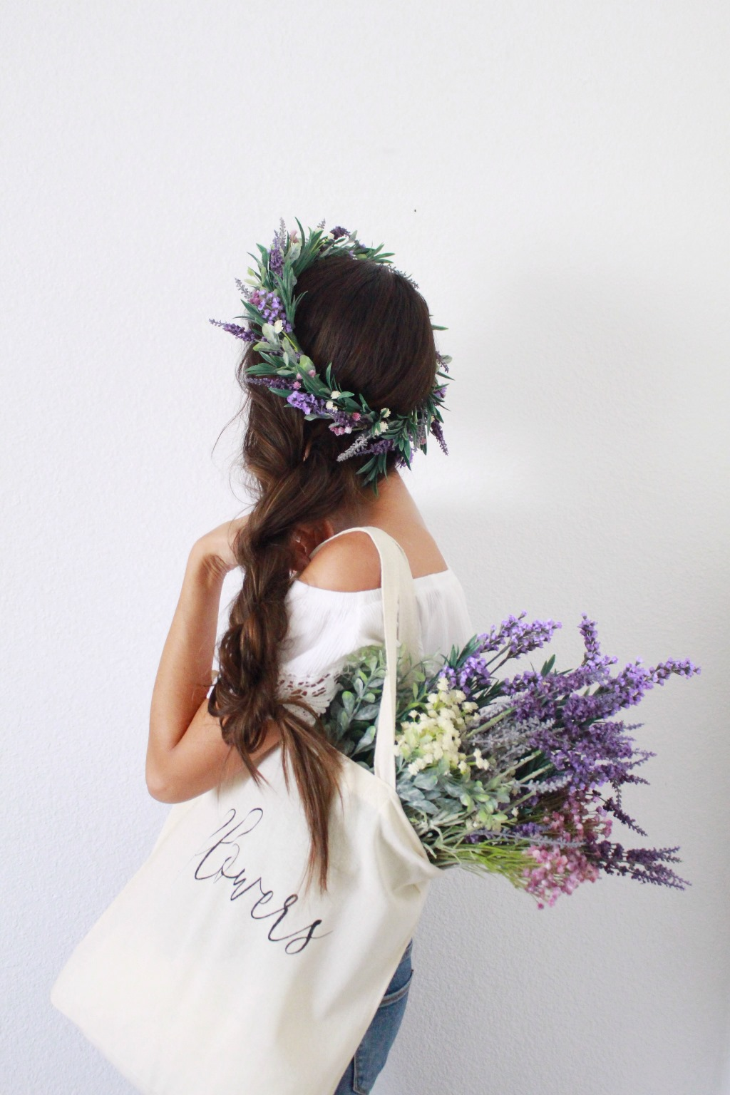 Event Lavender Flower Crown Workshop With Love Sparkle Pretty