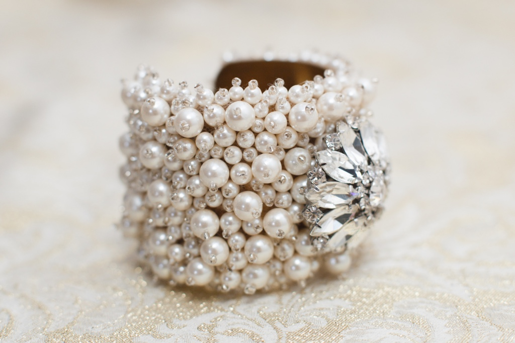 Pearls & Rhinestones make the perfect statement piece