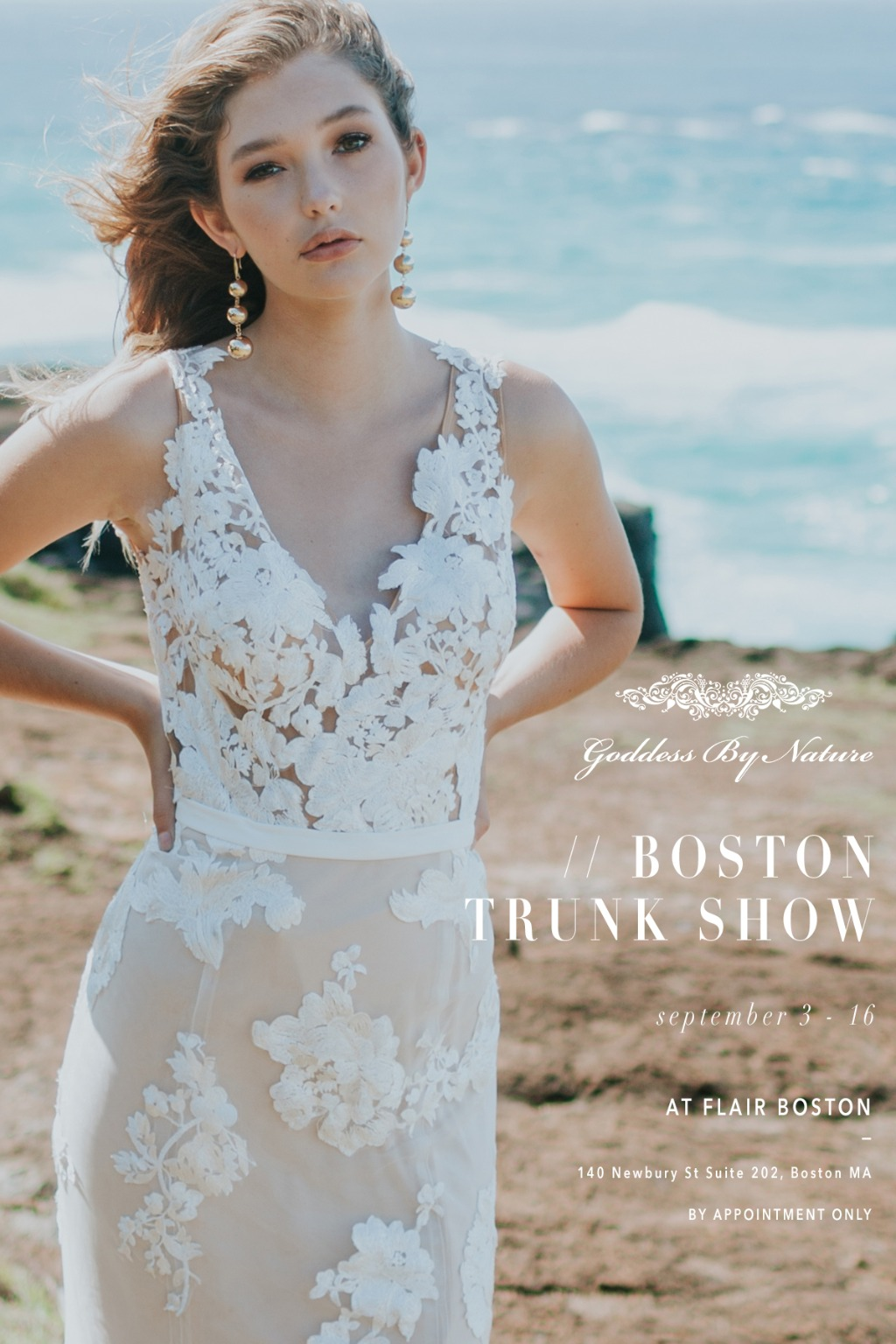 GODDESS BY NATURE TRUNK SHOW AT FLAIR BOSTON