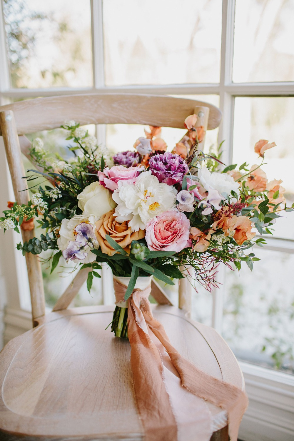 boho summer wedding bouquet
