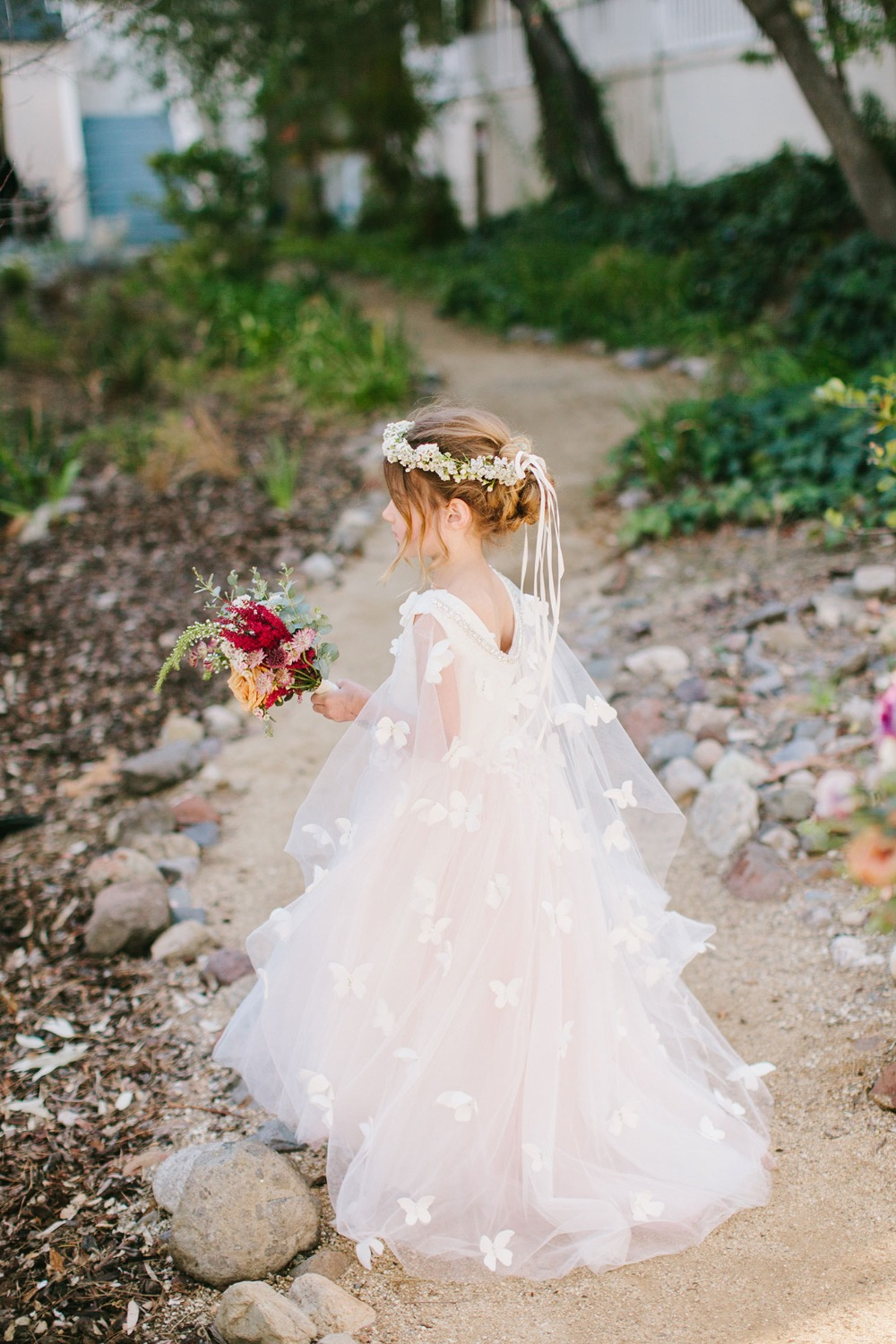 sweet little flower girl look