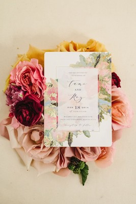 You Won't Believe This Boho Floral Wedding Was Plan B