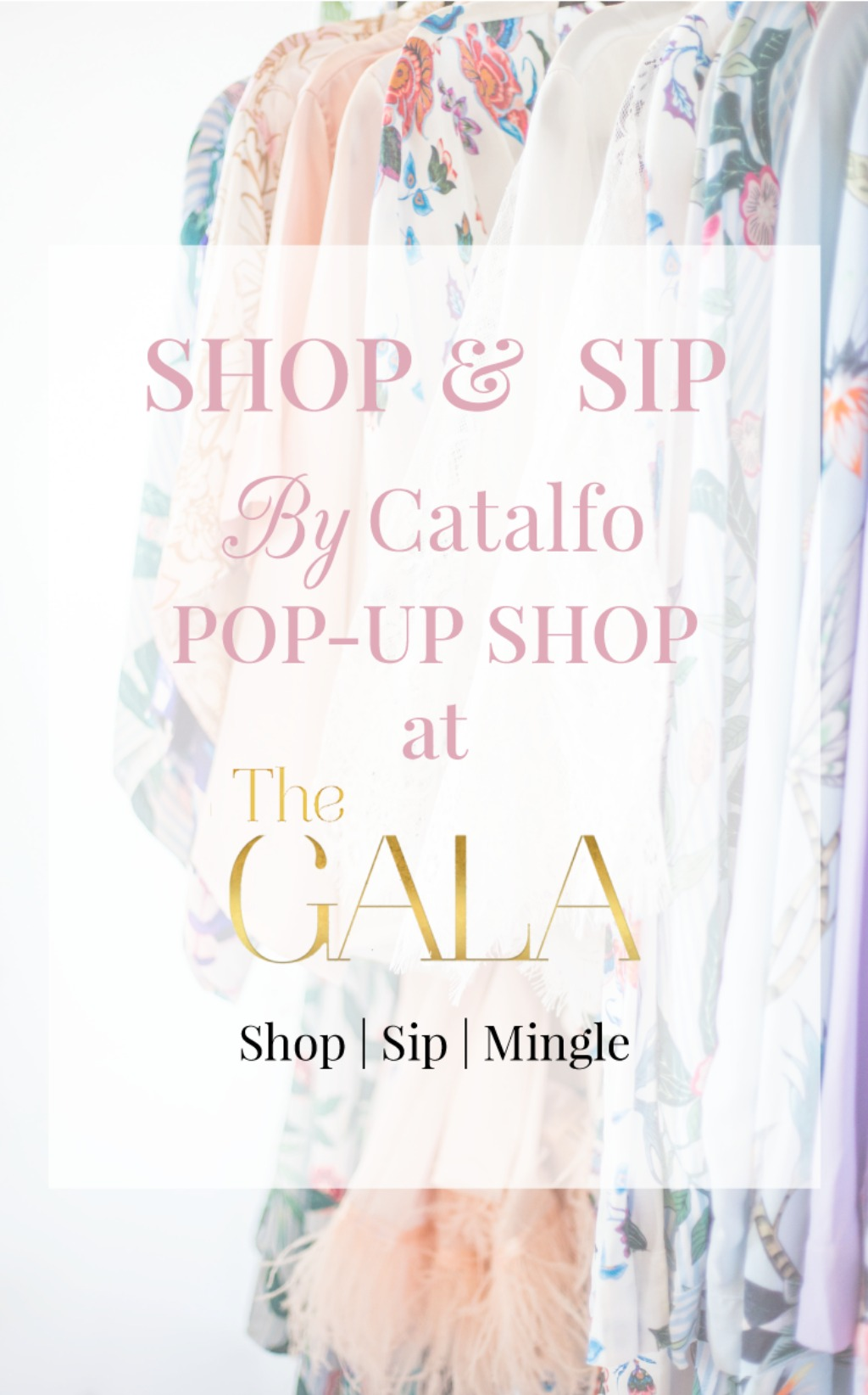 Shop + Sip @ the By Catalfo Pop Up