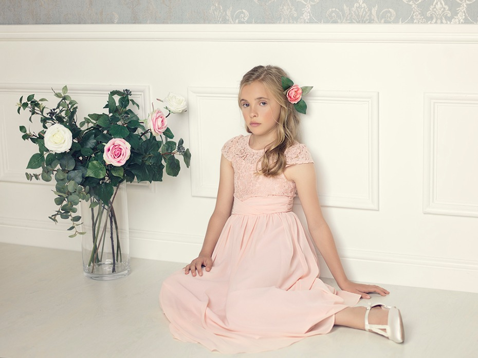 Roco Clothing Pink Victoria Dress