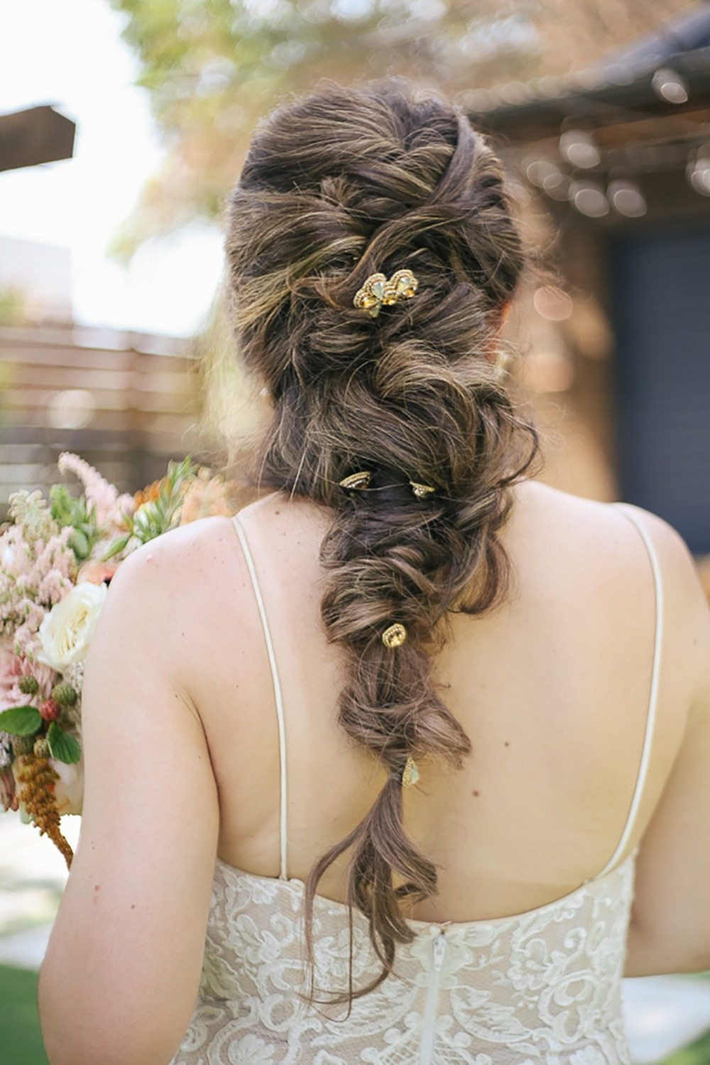 loose and romantic fishtail braid