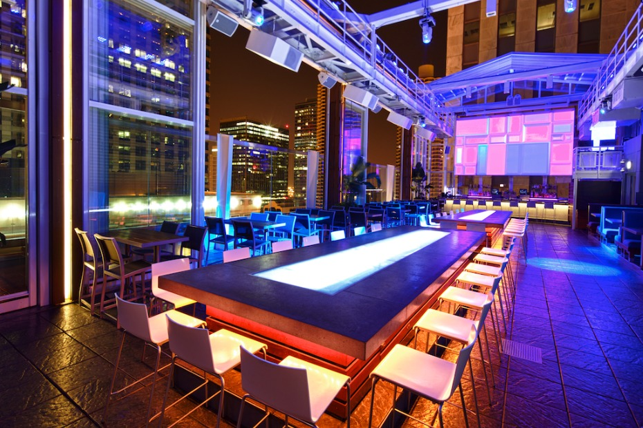 Roof on theWIT Bar Scene