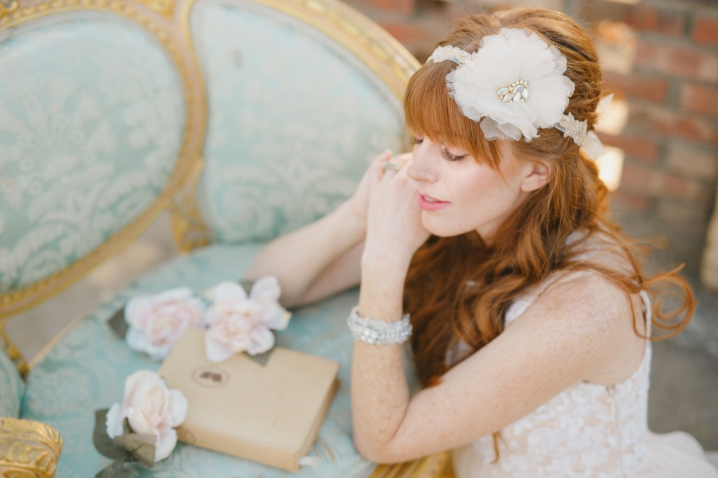 Vintage inspired bridal accessories that are one of a kind
