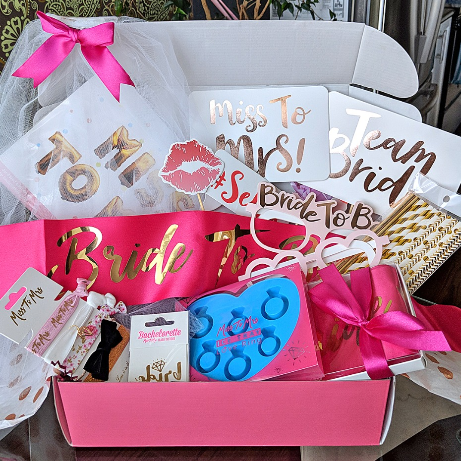 Miss to Mrs Subscription Box Bridal Shower Bachelorette Box