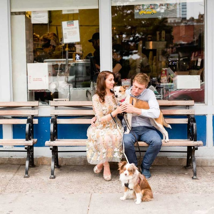 Can we bring our dogs with us to the engagement session? For me, the answer to that is ALWAYS a resounding, YES! But how do you