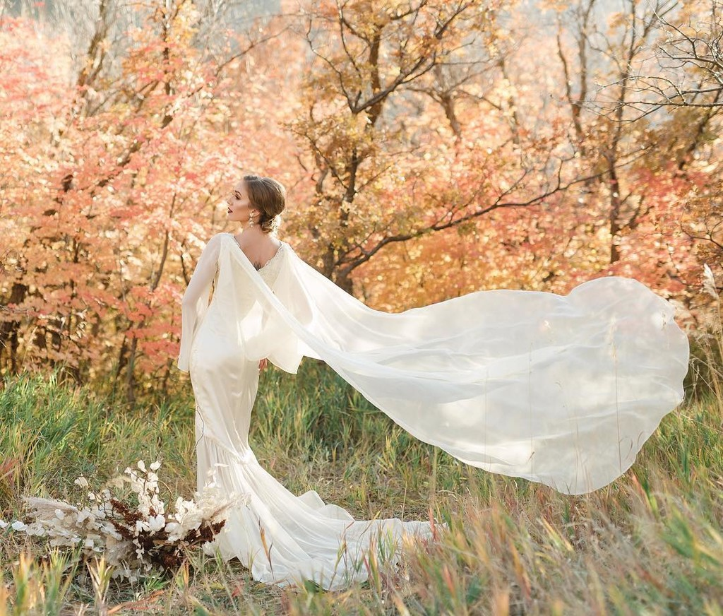 Inspiration Image from Betsy Couture Vintage Wedding Gowns