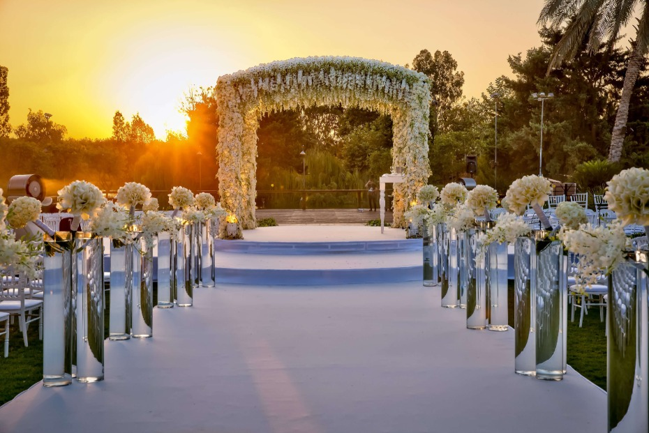 Outdoor Wedding in Tel Aviv Planned by BE Group TLV