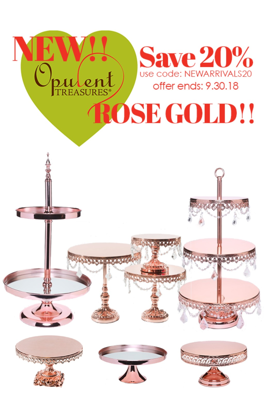 Opulent Treasures New Arrivals Sale