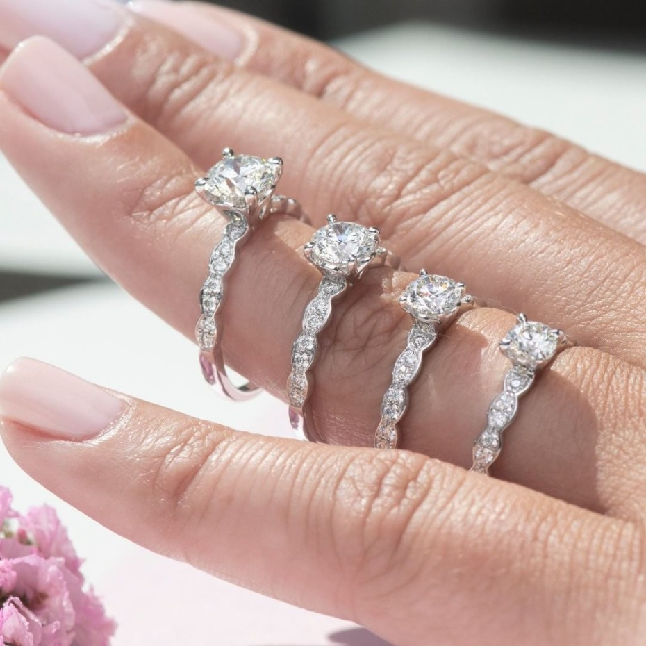 Hearts On Fire Diamond Engagement Rings In Size Order