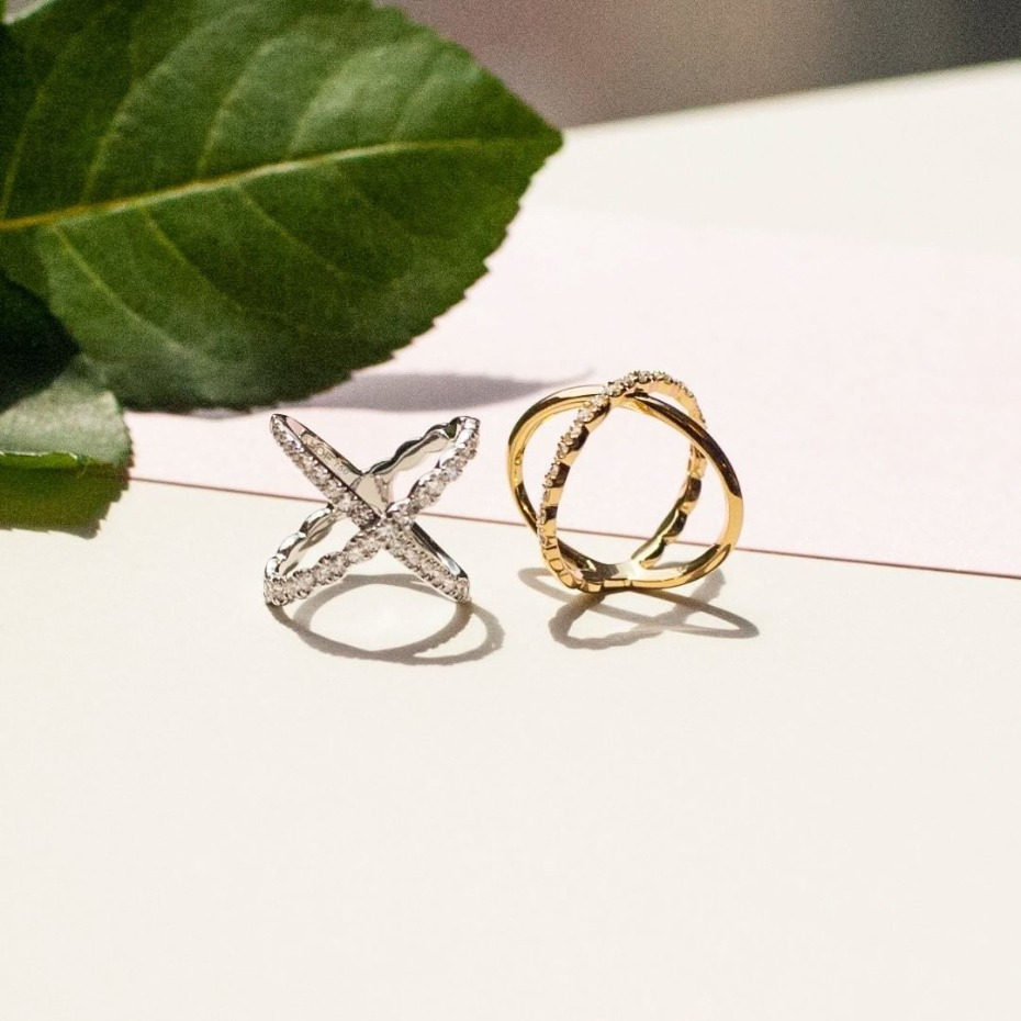 Hearts On Fire Criss Cross Rings
