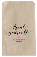 treat yourself favor bag