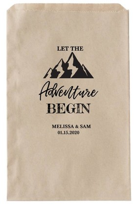 Printable Adventure Begin Favor Bags