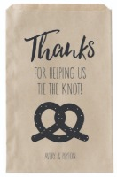 pretzel favor bag