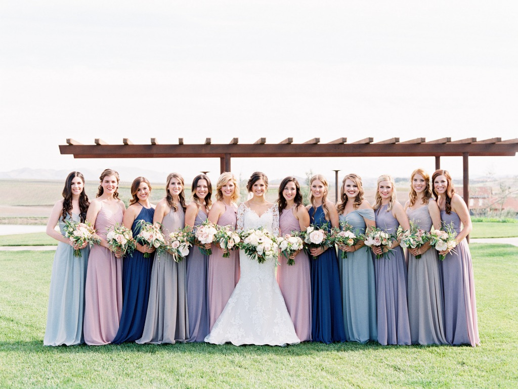 So beautiful color palette ✨😍 | Photo by Mallory Dawn Photography