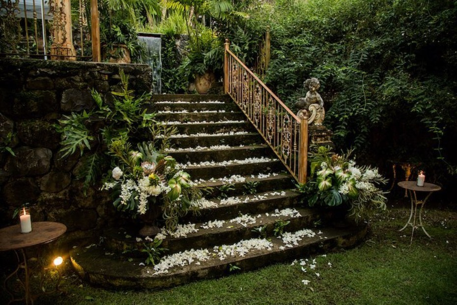 Haiku Mill Jungle Staircase