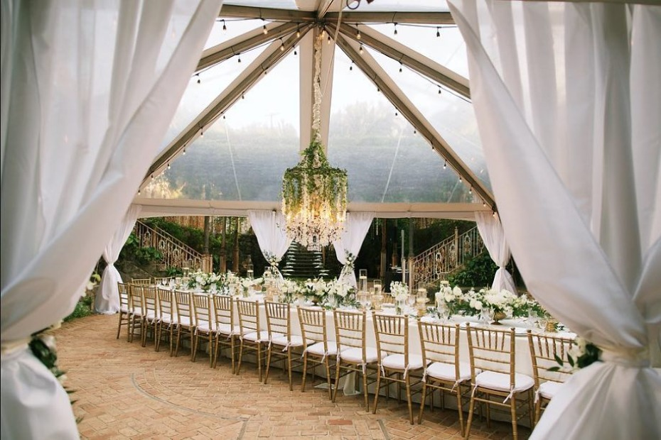 Haiku Mill Tented Wedding