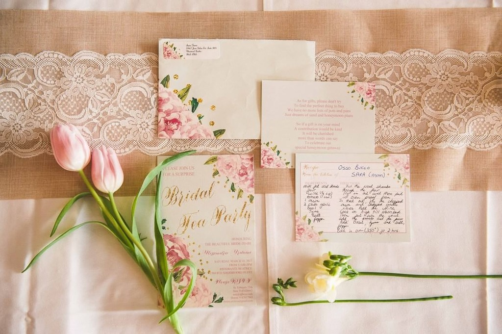 Invitations are 1st impressions, they determine the look and feel of your event and tell your guests what is to come. This bridal shower