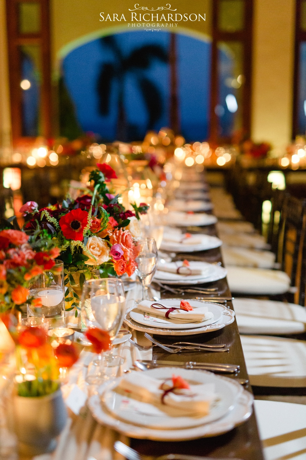 Autumn inspiration for Wedding reception