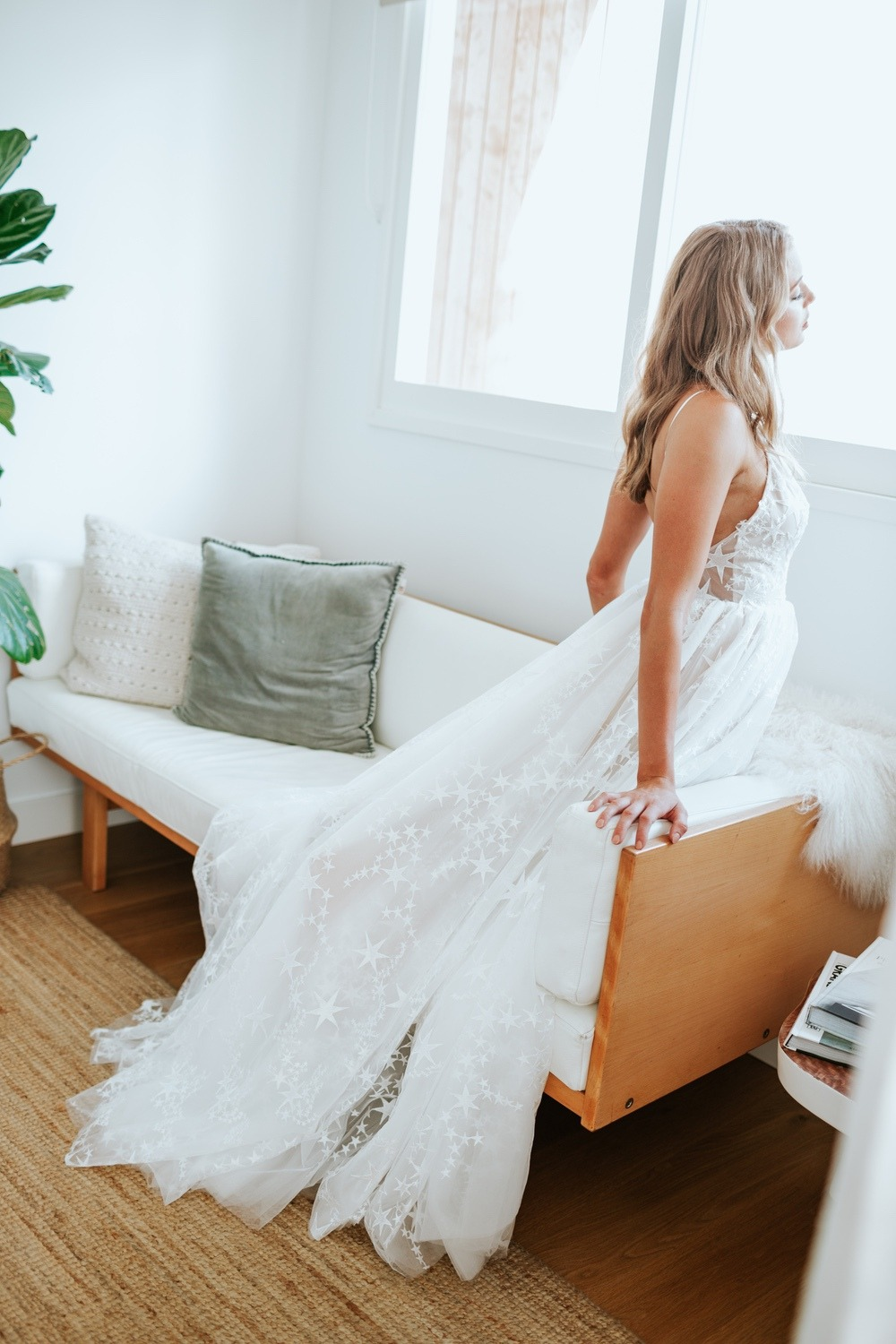 Star wedding dress from Luna Willow Bridal Dress Collection