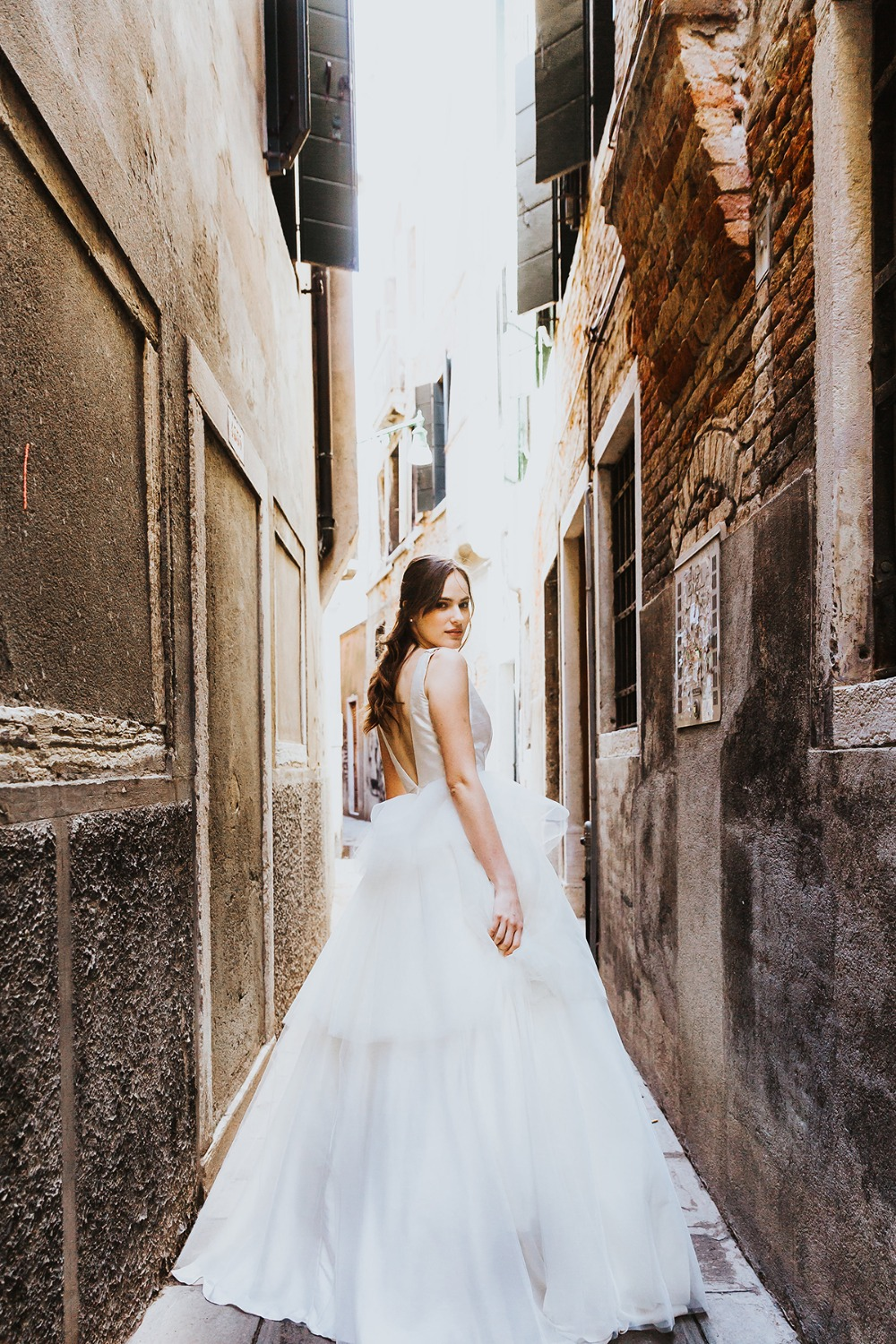 wedding portraits in Venice Italy