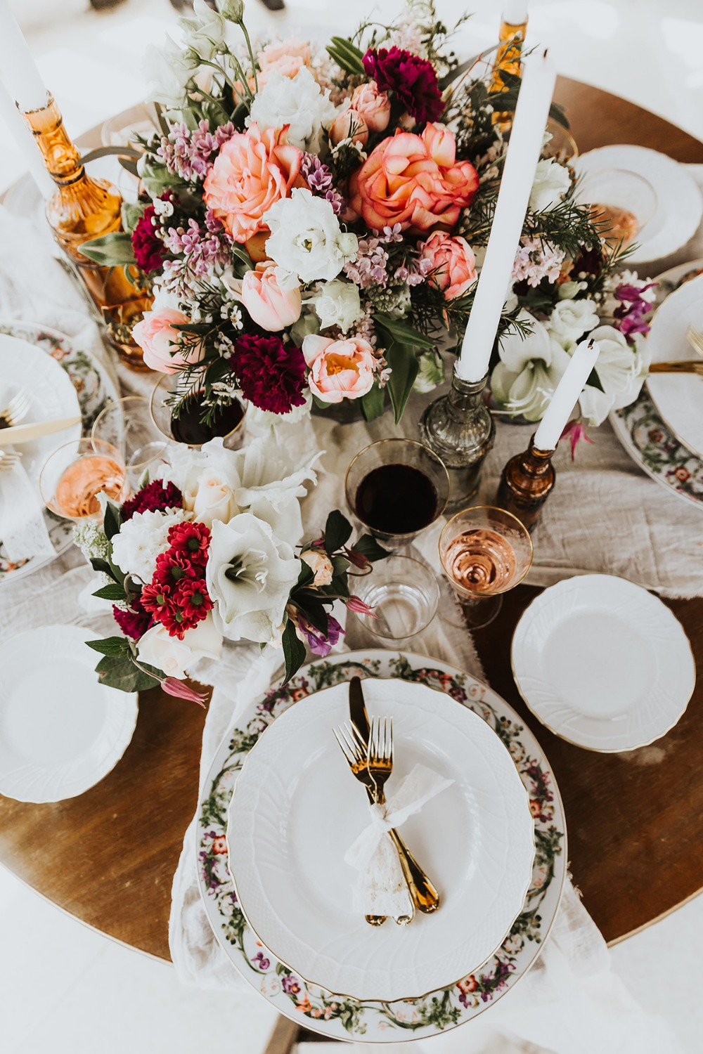 romantic Italian wedding table