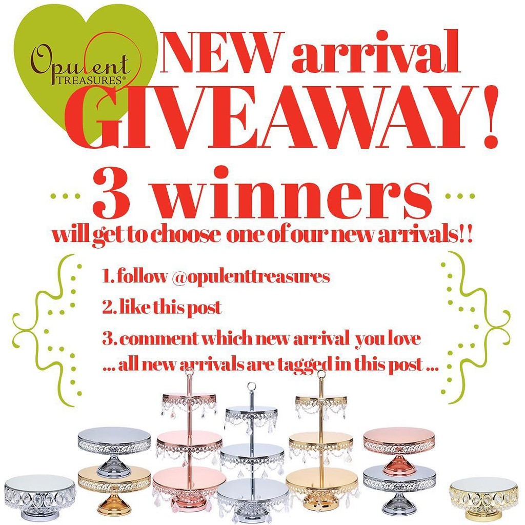 Opulent Treasures New Arrival Giveaway!