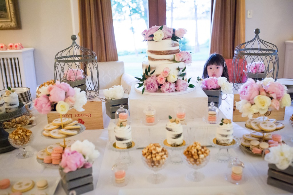 Beautiful sweet table designed by Events by Cece! It's a show stopper!