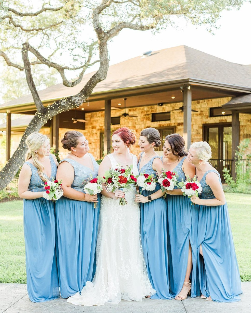 Amelia and her #bridetribe were absolutely stunning
