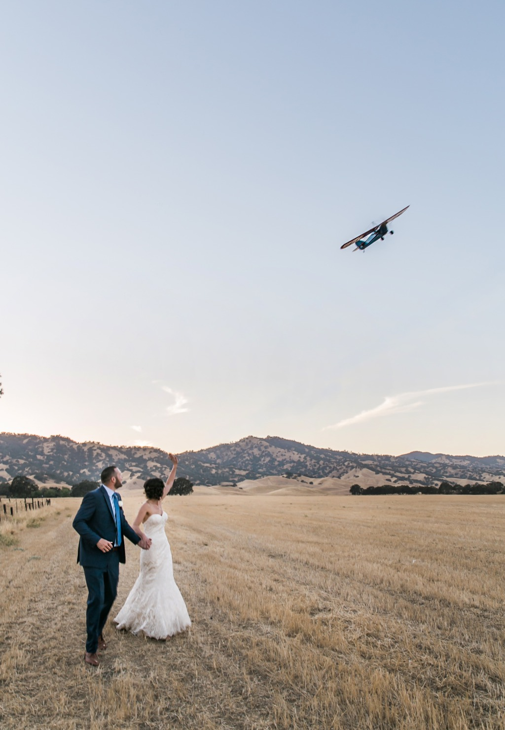 Rustic elegance outdoor wedding in Northern California