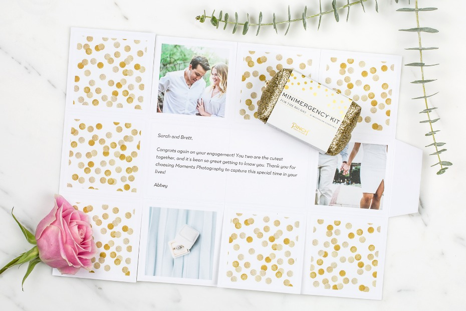 Greetabl gift from a photographer to her clients
