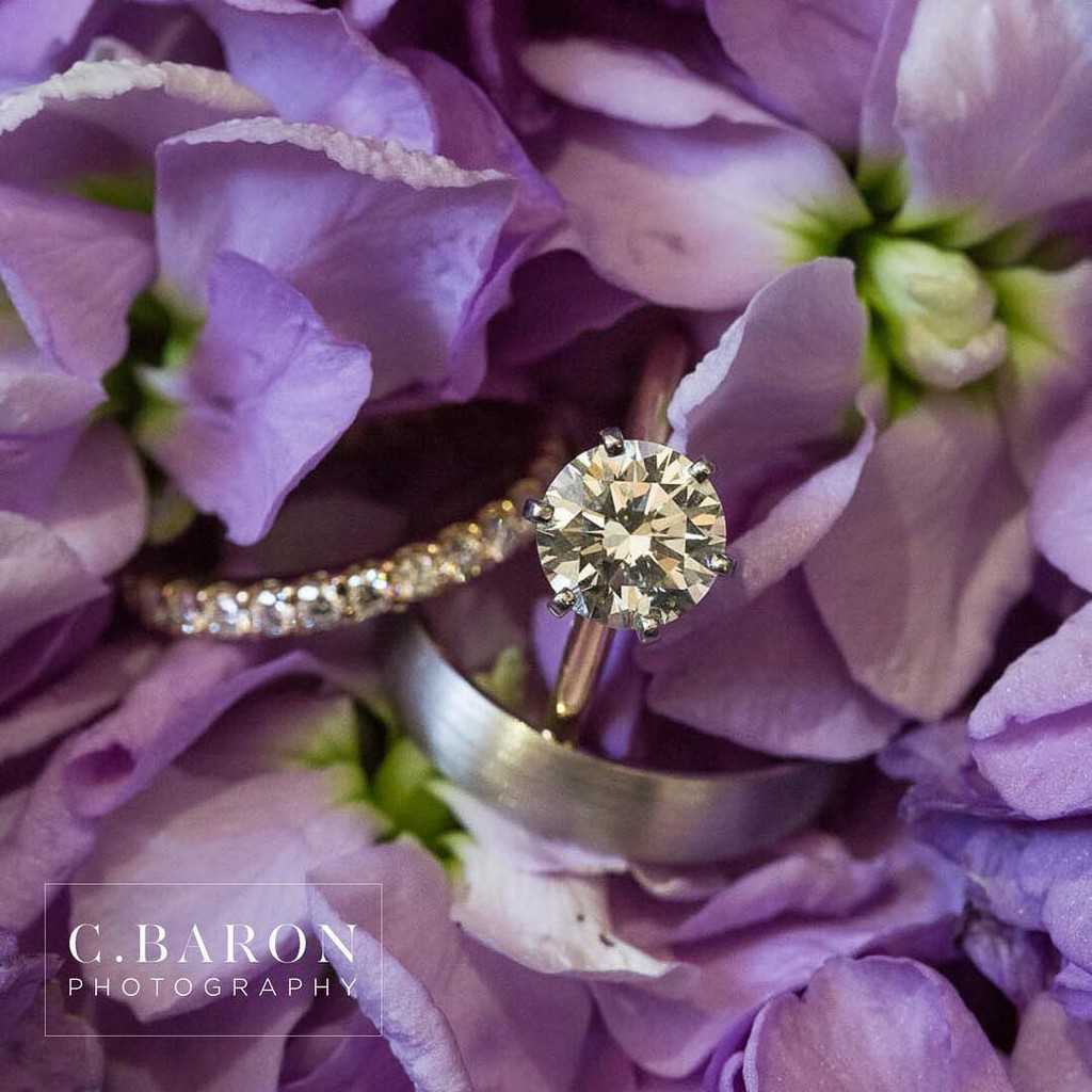 We couldn't stop staring at Madalyn's ring! Could it be anymore stunning?