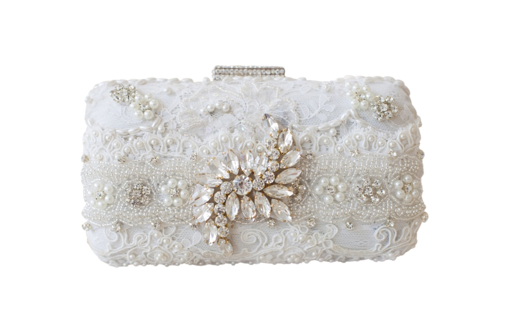 Embellished couture clutches that are the perfect keepsakes