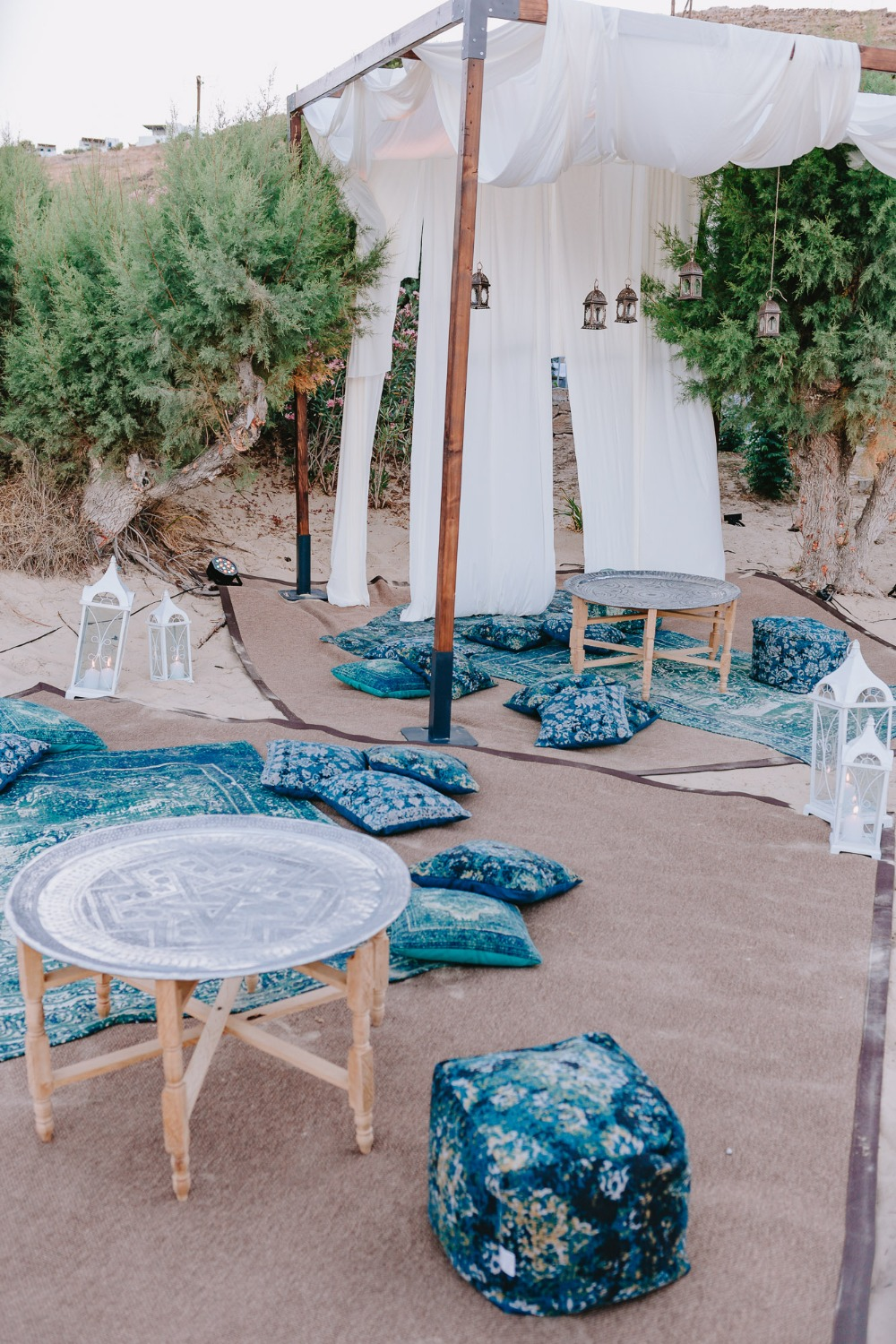 Modern Moroccan Inspired Beach Wedding