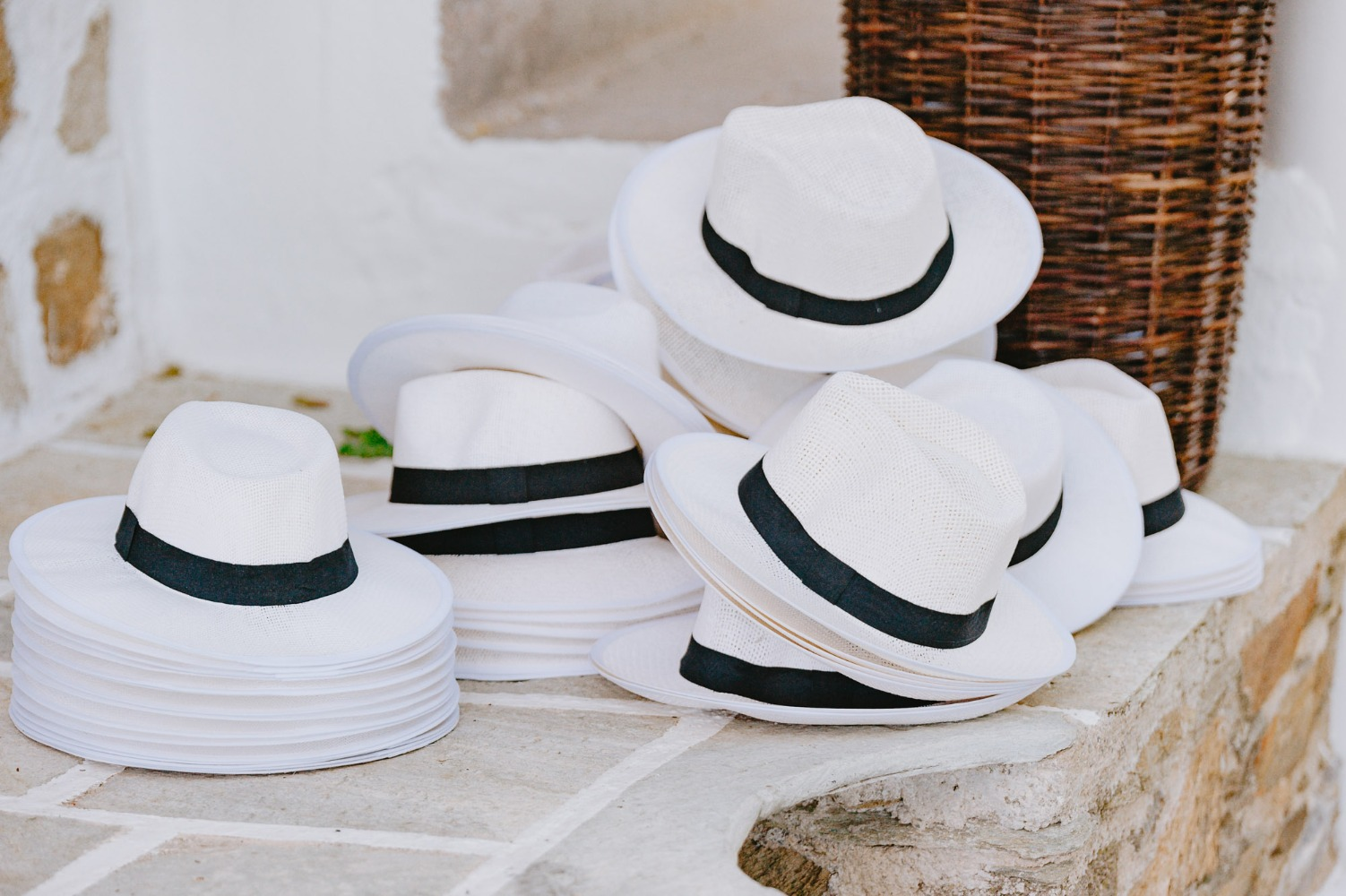 Fedora hats for wedding guests