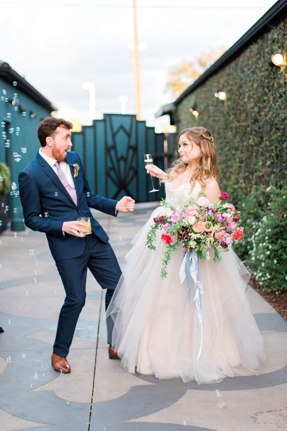 eclectic wedding at the fig house
