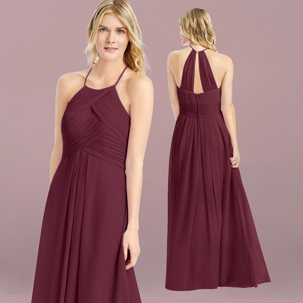 A budget cabernet Bridesmaid Dresses 😍 💕