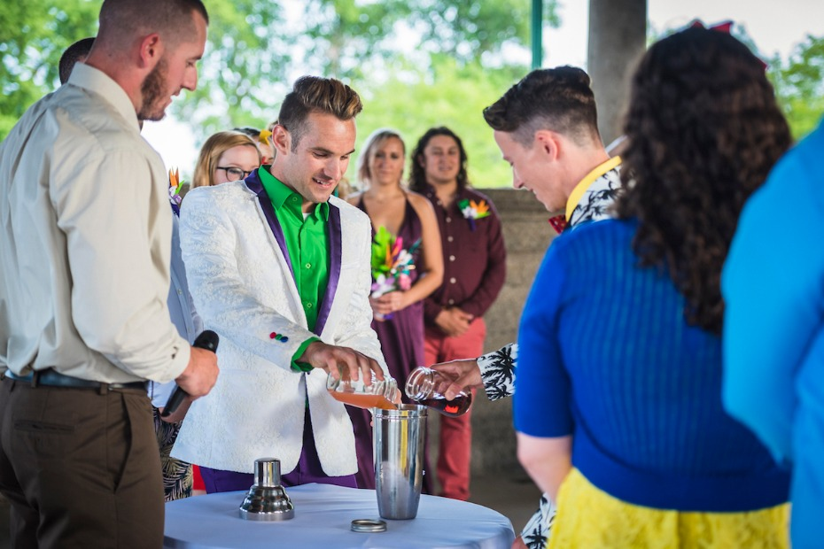 Jason and Garrett Toy Story Disney Wedding