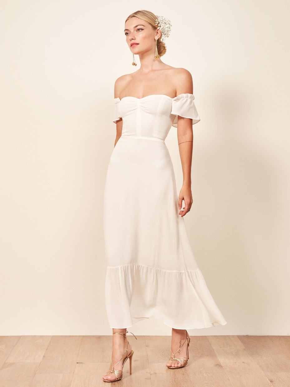 Reformation Butterfly Gown for Fall 2018