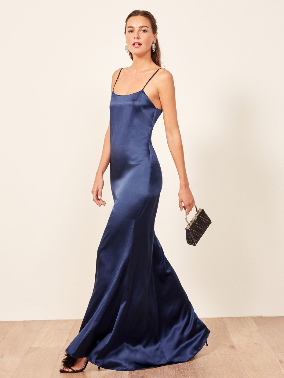Reformation Athena Bridesmaid Dress for Fall 2018