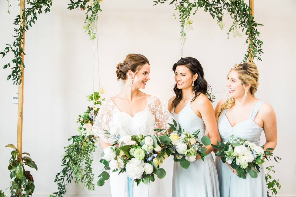 Find your perfect bridesmaid dresses at Azazie😍 💕 | Photo by Ashley LaPrade Photography