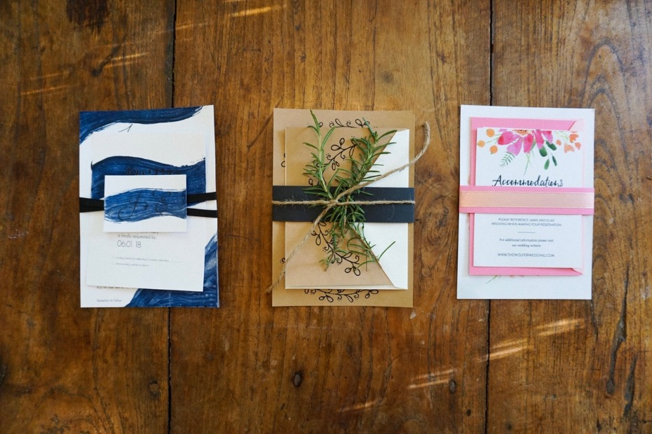 DIY Wedding Invitations Using Free Printables from Wedding Chicks