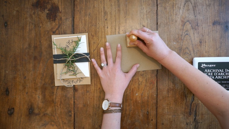 Free Wedding Invites from Wedding Chicks DIY-ed by Jamie Wolfer