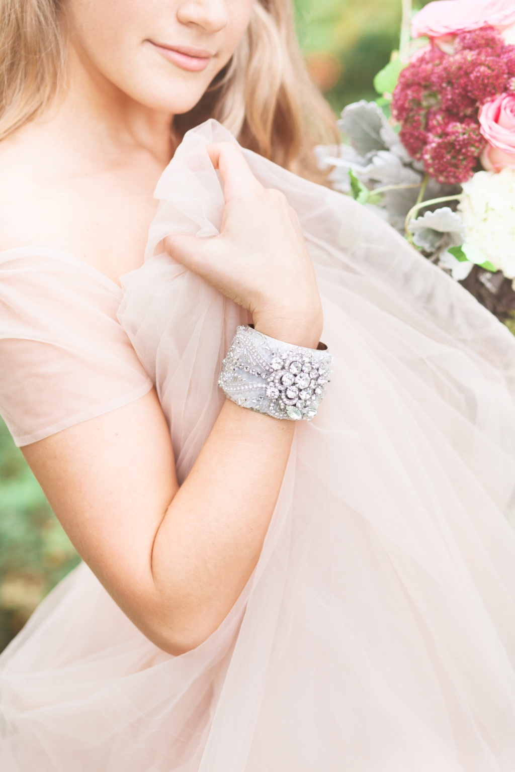 Make a glamorous statement as you walk into your wedding day.