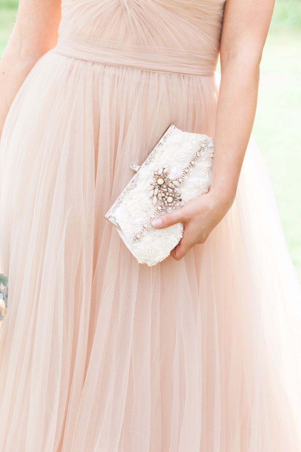 Utterly glamorous one of a kind bridal clutches.